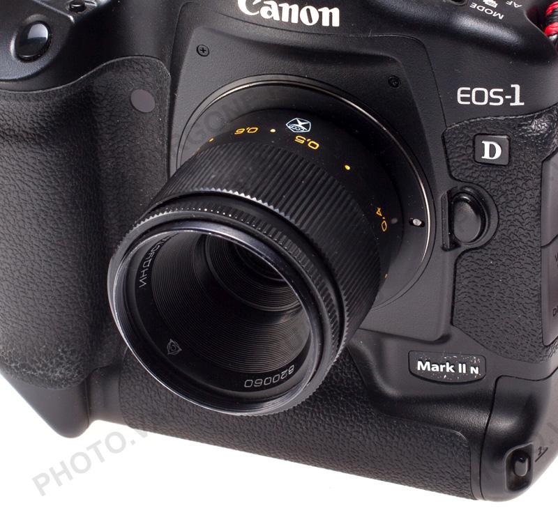 переходник с М42 на Canon EOS