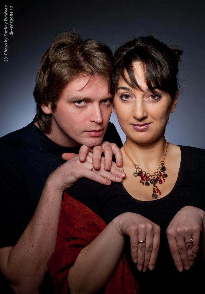 классические портрет. Оля и Митя