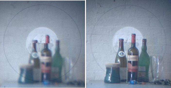 фокусировочный экран с клиньями Додена