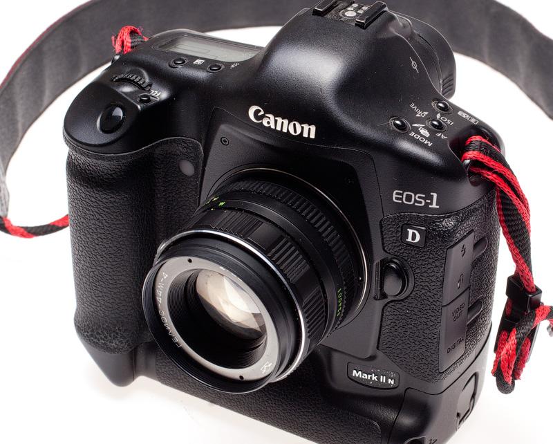Гелиос 44М-4 на камере Canon 1d mark II N