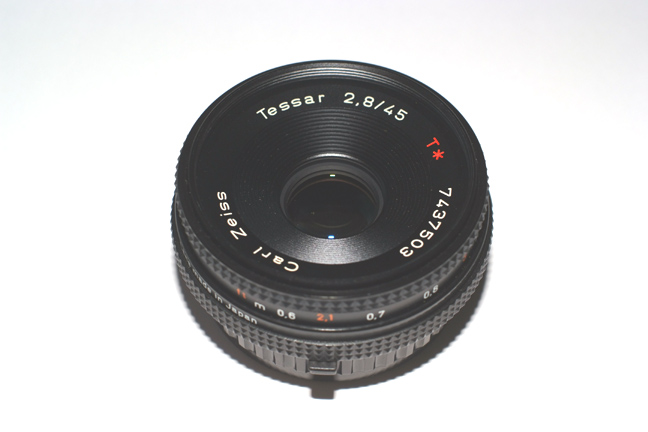 Carl Zeiss Tessar 45/2.8 MM