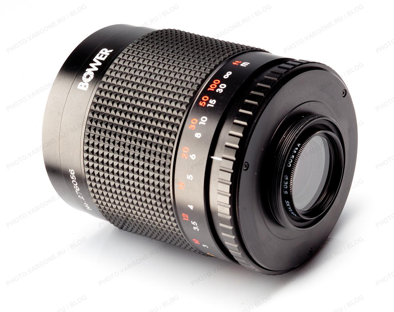объектив 500mm f/8 0 mirror reflex lens