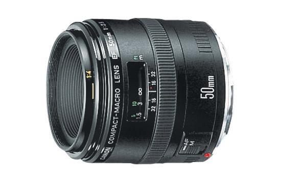 Canon EF 50 2.5 Macro
