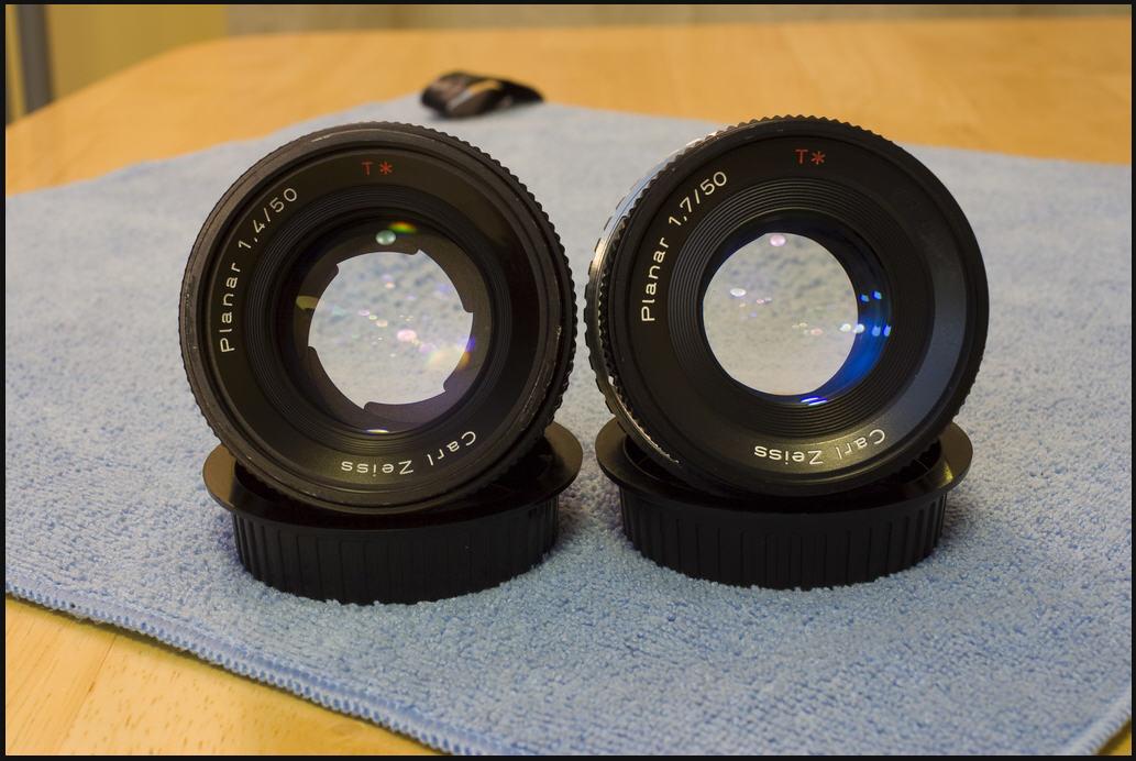 Carl Zeiss 50/1.4 C/Y, Carl Zeiss 50/1.7 C/Y - строение диафрагмы