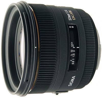 SIGMA AF 50 mm F/1.4 EX DG HSM для Canon